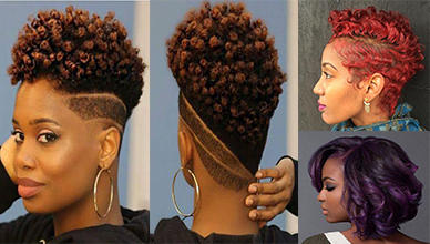 Lovely 10 Short Natural Hairstyles For Black Women New Natural