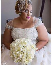 natural hair wedding styles african