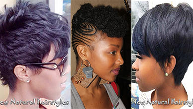 Best African American Short Natural Hairstyles For Women New