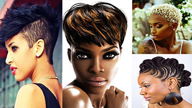 Effective 10 Short Natural Hairstyles For African American New