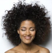 3 short black african american