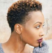 6 short natural hairstyles
