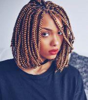 eye-catching box braids medium