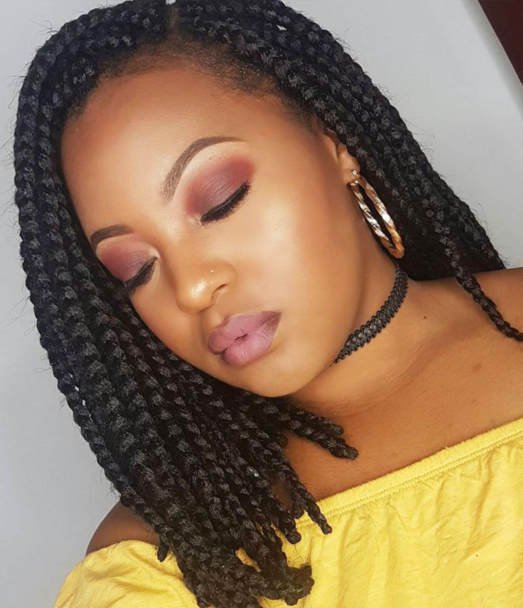 14 Dashing Box Braids Bob Hairstyles for Women