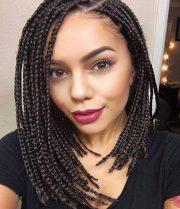 dashing box braids bob hairstyles