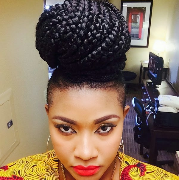 10 Best Nigerian Actress New Hairstyles  New Natural Hairstyles