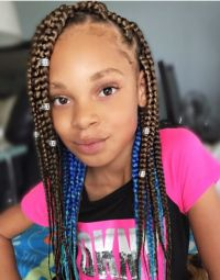 Easy 11 Box Braids Hairstyles for Kids   New Natural ...