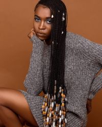 Braids with Beads for African American   New Natural ...