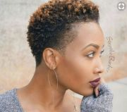 trendy short natural hairstyles