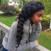 natural hairstyles medium length