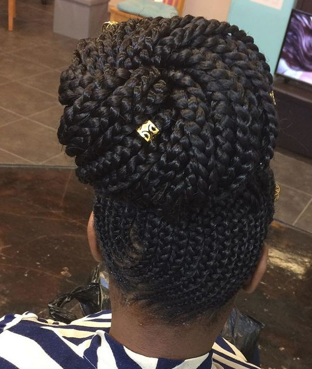 Classic Feed in Braids Updos Hairstyles for Your Next