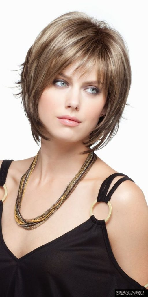 12 Short Hairstyles for Round Faces with Double Chin  New Natural Hairstyles