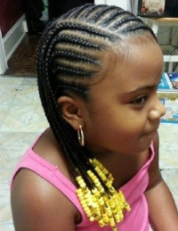 Braids with Beads for Little Girl | New Natural Hairstyles