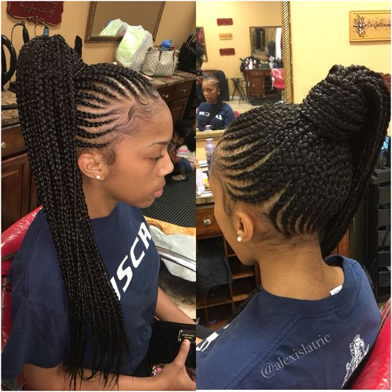 30 cornrows hairstyles 2018 ponytail hairstyles ideas walk the