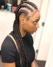 cute goddess braids styles