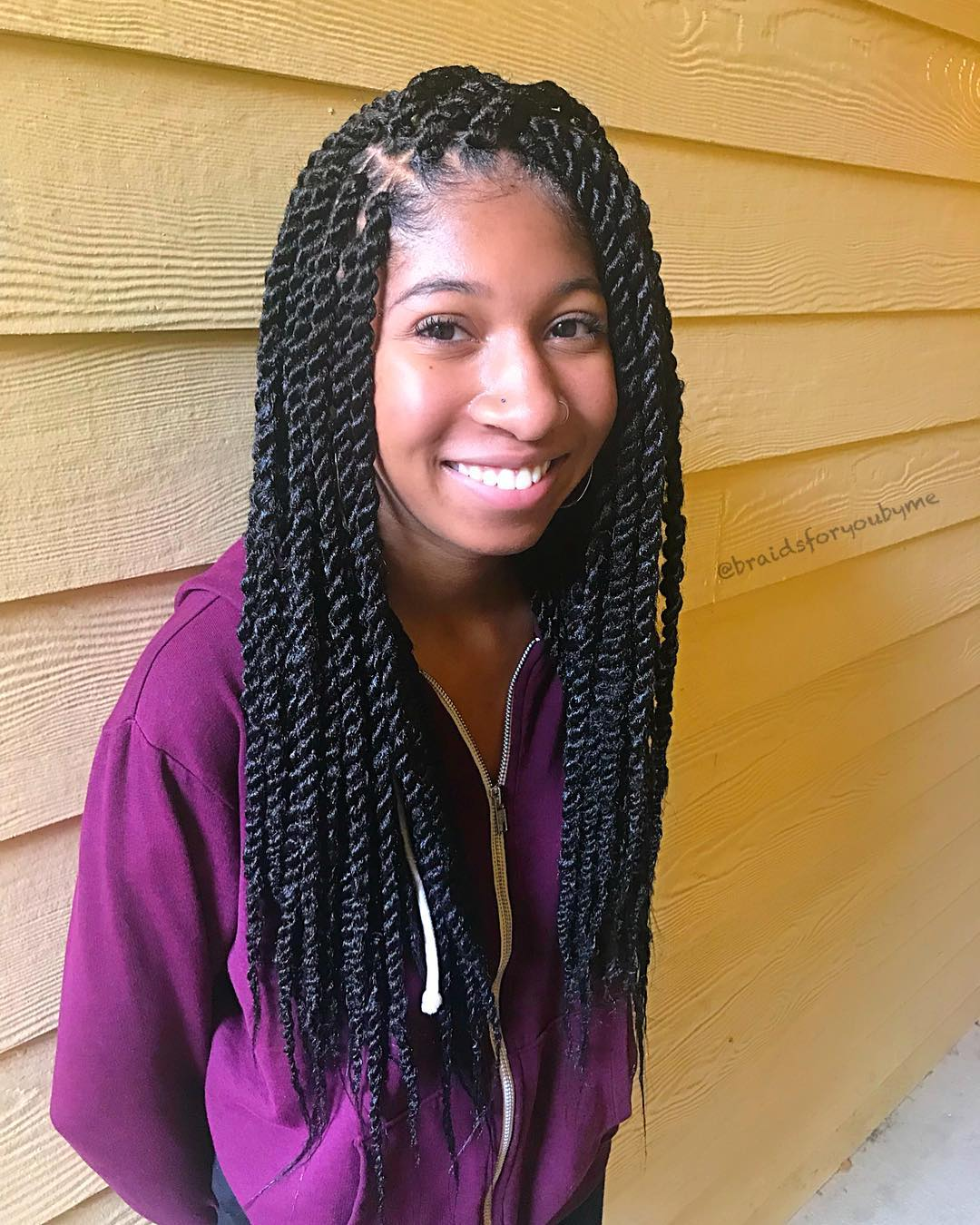 Inspiring 12 Twist Styles On Natural Hair New Natural Hairstyles