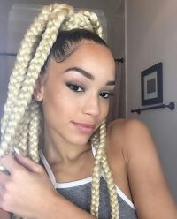 8 Box Braids Blonde on Black Hair for You | New Natural ...