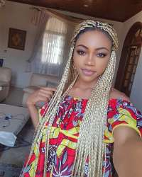8 Box Braids Blonde on Black Hair for You | Natural Hairstyles