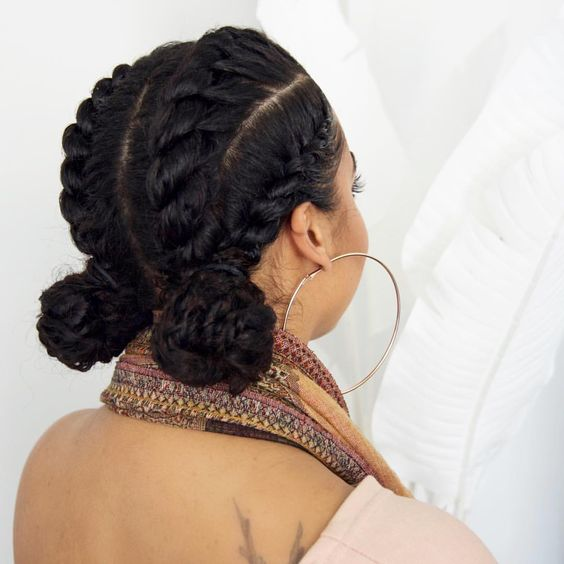 Bun On Natural Hair Ideas That Create Polished Look New Natural