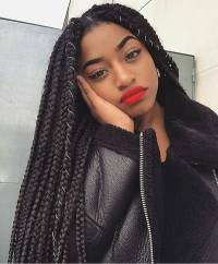 Cute Box Braids Hairstyles You Will Love | Natural Hairstyles