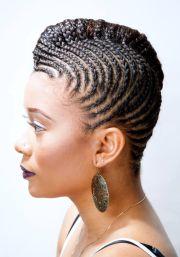 cornrow hairstyles short natural
