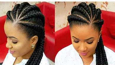 Big Cornrows Archives New Natural Hairstyles