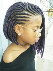 pixie bob braids black women