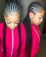 cornrow hairstyles school