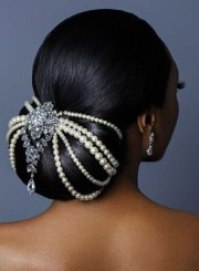 natural hair updos weddings