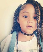 box braids kids natural