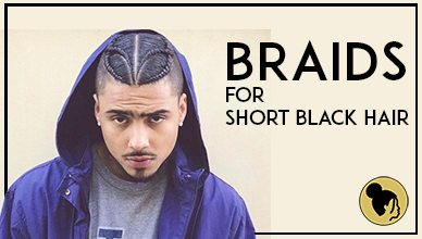 Braids For Short Black Hair Men New Natural Hairstyles