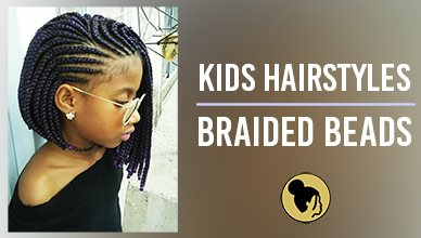 Black Kids Hairstyles With Braided Beads New Natural Hairstyles
