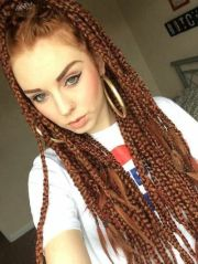 remarkable box braids examples