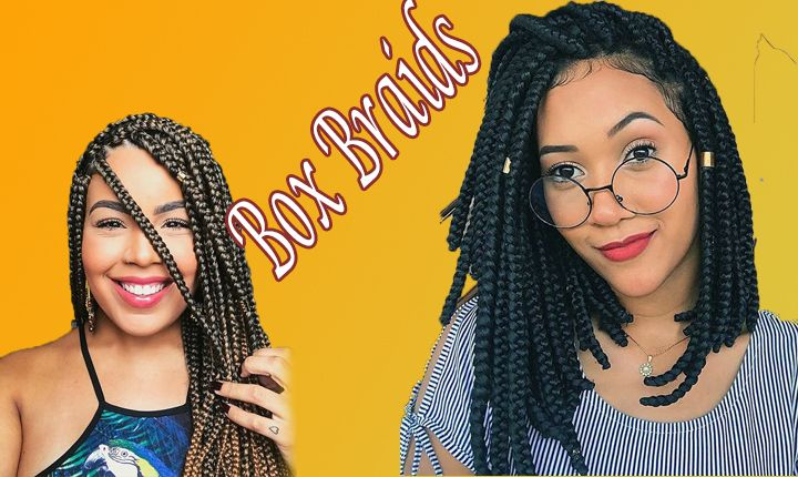Picture The Greatest Box Braids Hairstyles Of 2020 New Natural