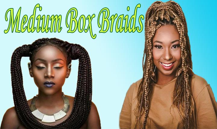 Medium Box Braids Mystery Revealed With 100 Hairstyles New