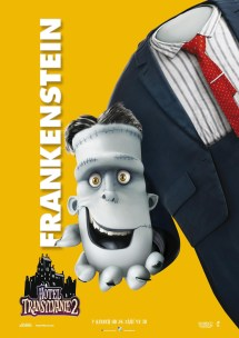 Hotel Transylvania 2 Character Posters