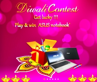 Diwali 2012 Offers on Asus Notebooks