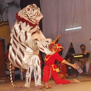 Animal Mask Dance in Odisha