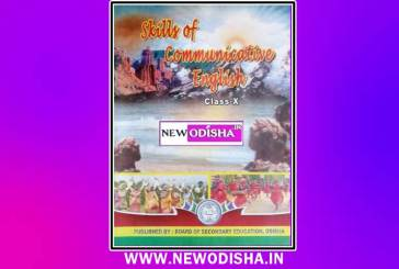 Class 10th English Book by BSE Odisha