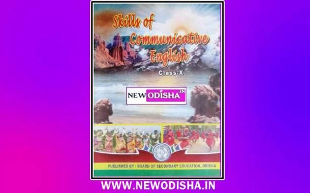 Class 10th English Book by BSE Odisha