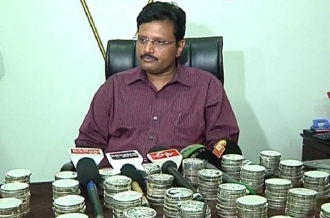 1000 silver coins of Seashore Group seized from Axis Bank in Bhubaneswar
