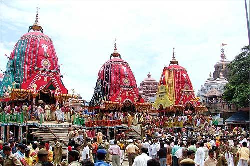 Watch Bahuda Jatra 2014 Live From Puri