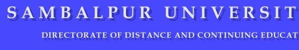 DDCE Sambalpur University