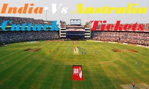 Buy Tickets Online For India vs Australia at Barabati Stadium on 26th Oct 2013