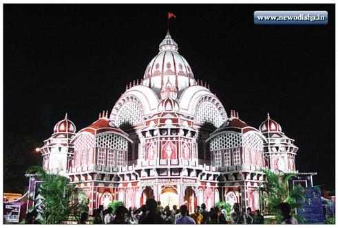 Jharpada Durga Puja Gate of Bhubaneswar 2013