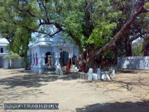Front of Huma Shiva Temple