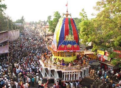 Rukuna Rath Yatra of Odisha