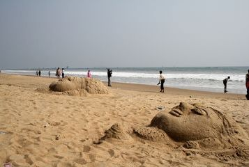 Konark Sea Beach of Odisha