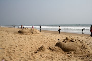 Konark Sea Beach of Odisha