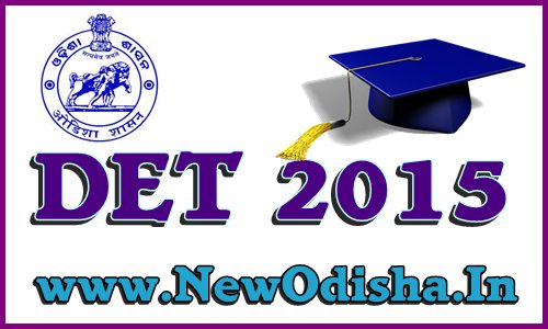 DET Odisha Exam Results 2015